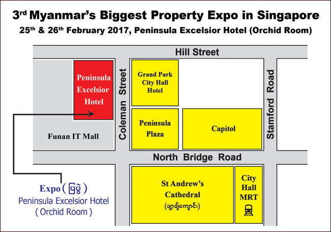 Singapore's Biggest Property Expo by iMyanmarHouse.com