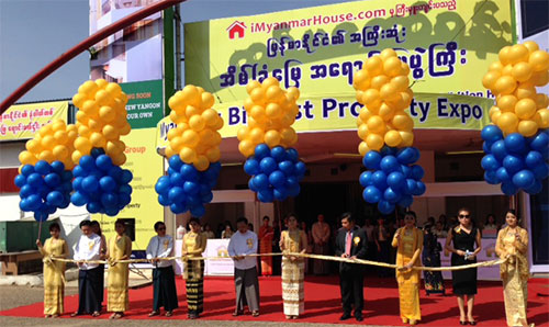 Myanmar's Biggest Property Expo