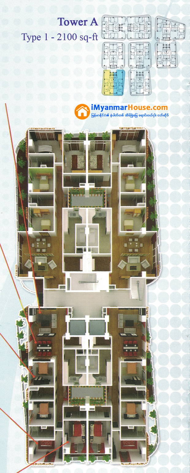Shwe Zabu River View Complex Luxury Condominium