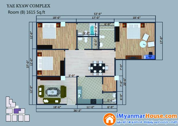 Yae Kyaw Complex (AMPS Construction)
