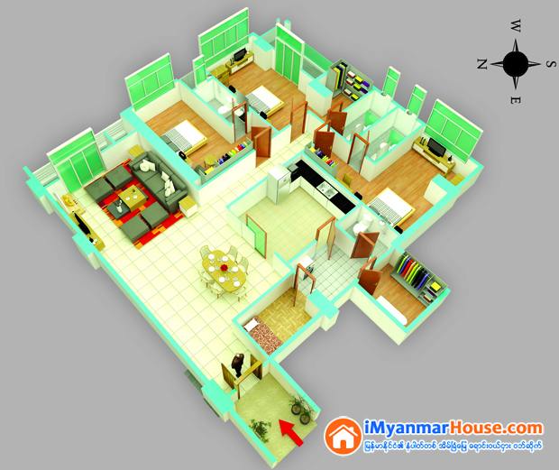 Grand Mya Kan Thar Condominium