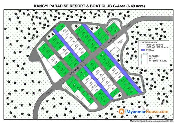 Kangyi Paradise Land / Service Apartment