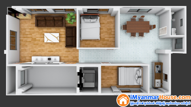 45 Yadanartheinkha Apartment (iGreen Construction)