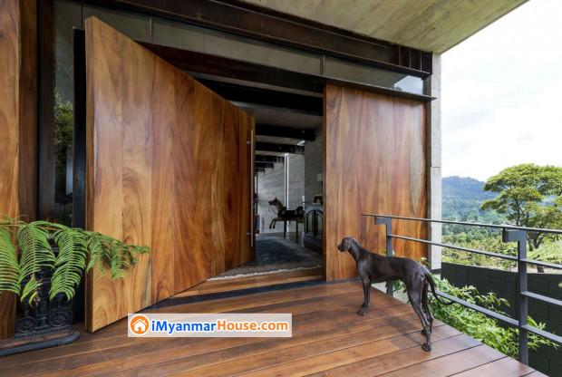 နေအိမ်ရဲ့အဝင်တံခါးချပ်လေးတွေကို ဆွဲဆောင်မှုရှိတဲ့ ဒီဇိုင်းနဲ့တည် ဆောက်ပုံဖော်တတ်ဖို့…..